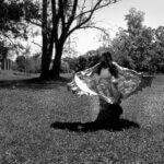 Scharlene Amarante vestida de cigana